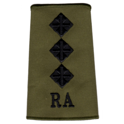 RA Officer Rank Slide Olive