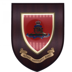 Royal Artillery Band Wall Shield