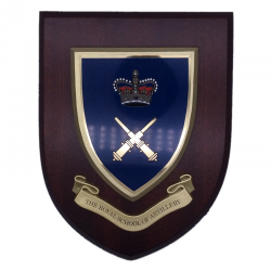 Royal School Artillery Wall Shield
