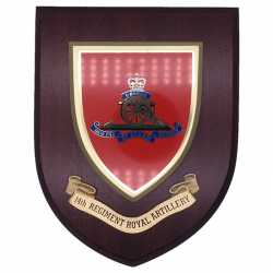 14 Regiment Royal Artillery Wall Shield
