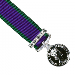 General Service (NI) Miniature Medal