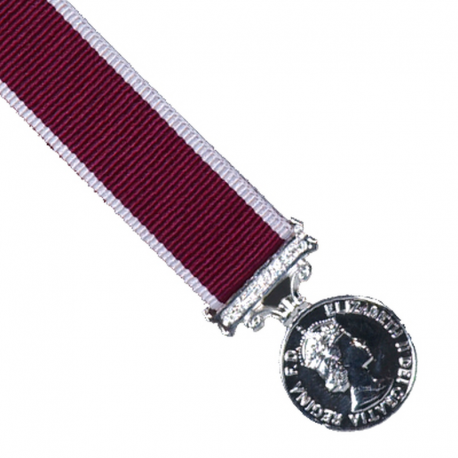 Long Service and Good Conduct Miniature Medal