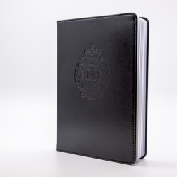 Royal Engineers Badge Notebook