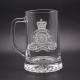 Royal Artillery Glass Tankard