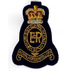 1st Royal Horse Artillery Blazer Badge