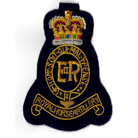 Royal Horse Artillery Blazer Badge