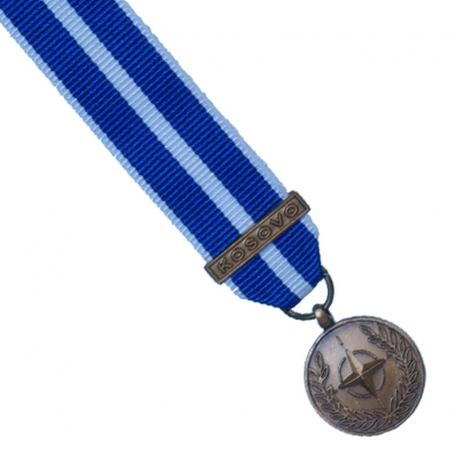 Nato Kosovo Miniature Medal