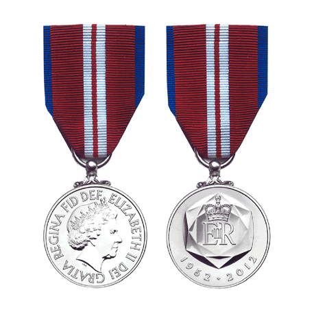 Queen's Diamond Jubilee Miniature Medal