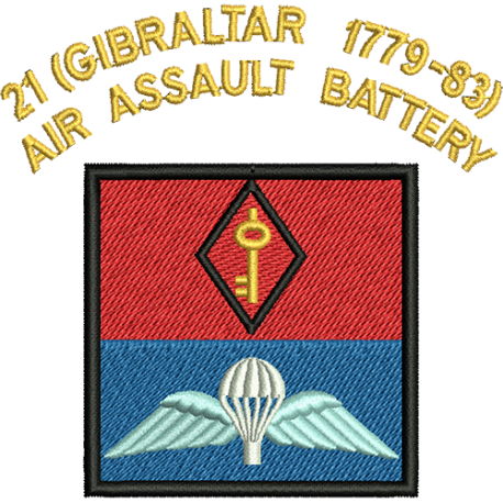 21 (Gibraltar 1779-83) Air Assault Battery Just Cool T-Shirt