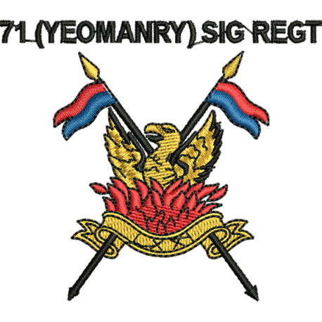 71 (Yeomanry) Signals Regt Just Cool T-Shirt