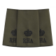 RHA Officer Rank Slide Olive