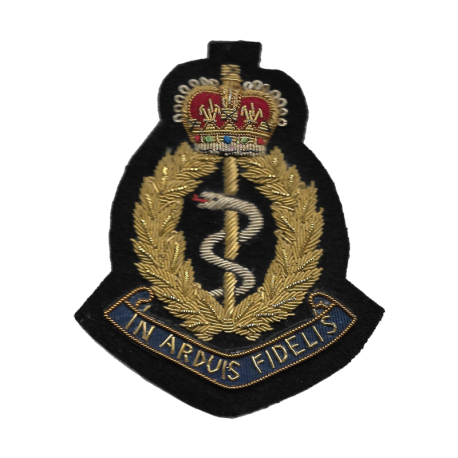 RAMC Blazer Badge