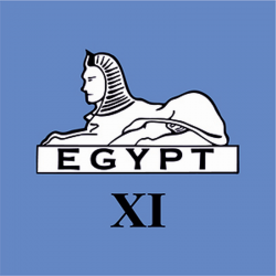 11 (Sphinx) Battery Window Cling
