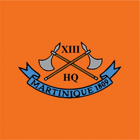13 (Martinique 1809) Battery Window Cling
