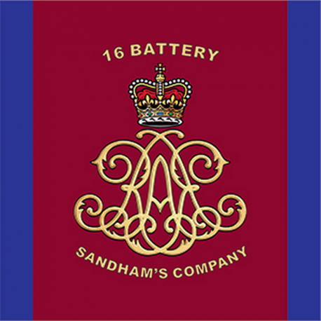 16 Battery (Sandham's Company) Window Cling