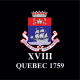 18 (Quebec 1759) Battery Window Cling