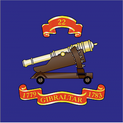 22 (Gibraltar 1779–83) Window Cling