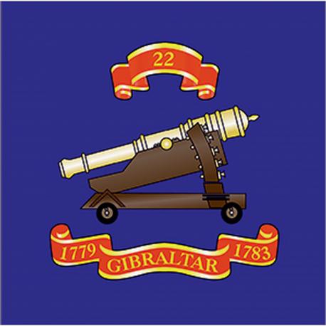 22 (Gibraltar 1779–83) Window Cling