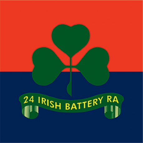 24 (Irish) Battery Window Cling