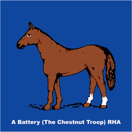 A Battery (The Chestnut Troop) Window Cling