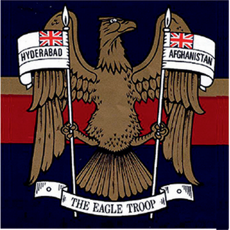 N Battery (The Eagle Troop) Window Cling