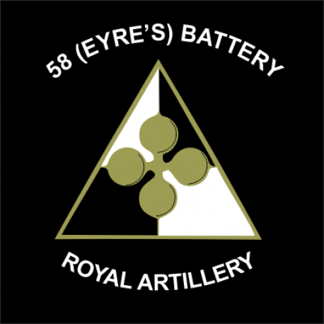58 (Eyre's) Battery Window Cling