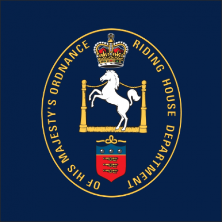 King's Troop Royal Horse Artillery Window Cling