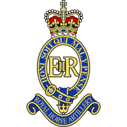 1 Royal Horse Artillery Window Cling