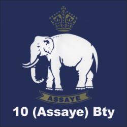 10 (Assaye) Battery Sticker