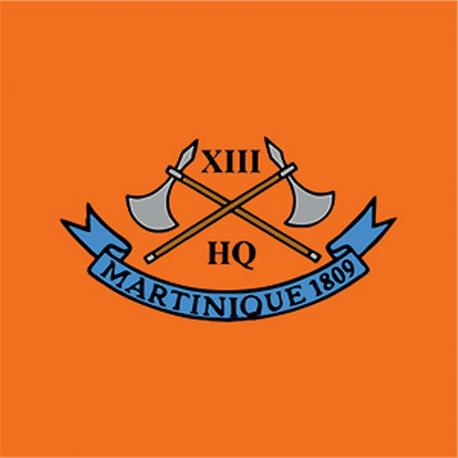 13 (Martinique 1809) Battery Sticker