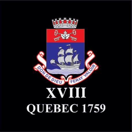 18 (Quebec 1759) Battery Sticker