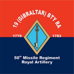 19 (Gibraltar) Battery Sticker