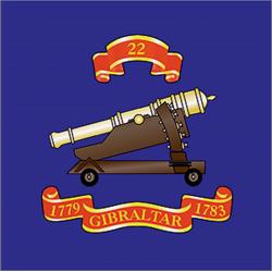 22 (Gibraltar 1779–83) Sticker