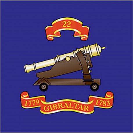 22 (Gibraltar 1779–83) Sticker