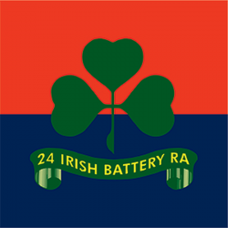 24 (Irish) Battery Sticker