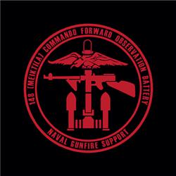 148 (Meiktila) Commando Battery Sticker