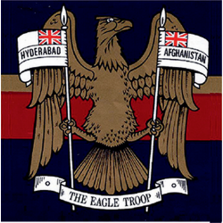 N Battery (The Eagle Troop) Sticker