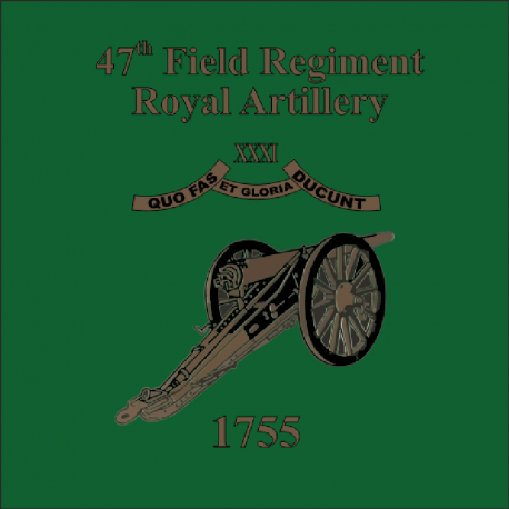 47 Field Regiment Royal Artillery Sticker