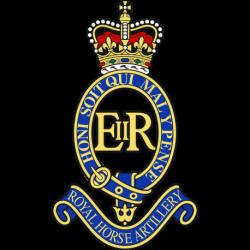 1 Royal Horse Artillery Window Sticker
