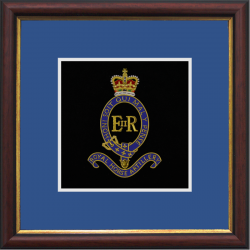1 RHA Framed Badge