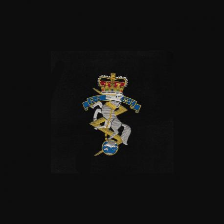 REME Framed Badge