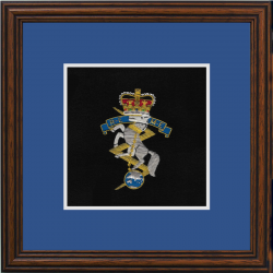 REME Framed Badge