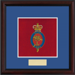 L (Néry) Battery Framed Badge