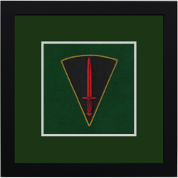 Commando Dagger Framed Badge