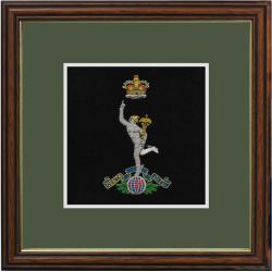 Royal Signals Framed Badge