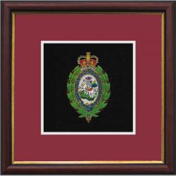 RRF Crest Framed Badge