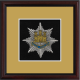 Royal Anglian Regiment Framed Badge