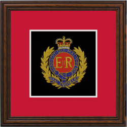 Royal Engineers Framed Badge