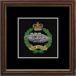 Royal Tank Regiment Framed Badge