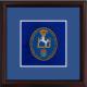 Kings Troop Framed Badge